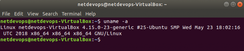 Gitea running inside VirtualBox VM on top of Ubuntu