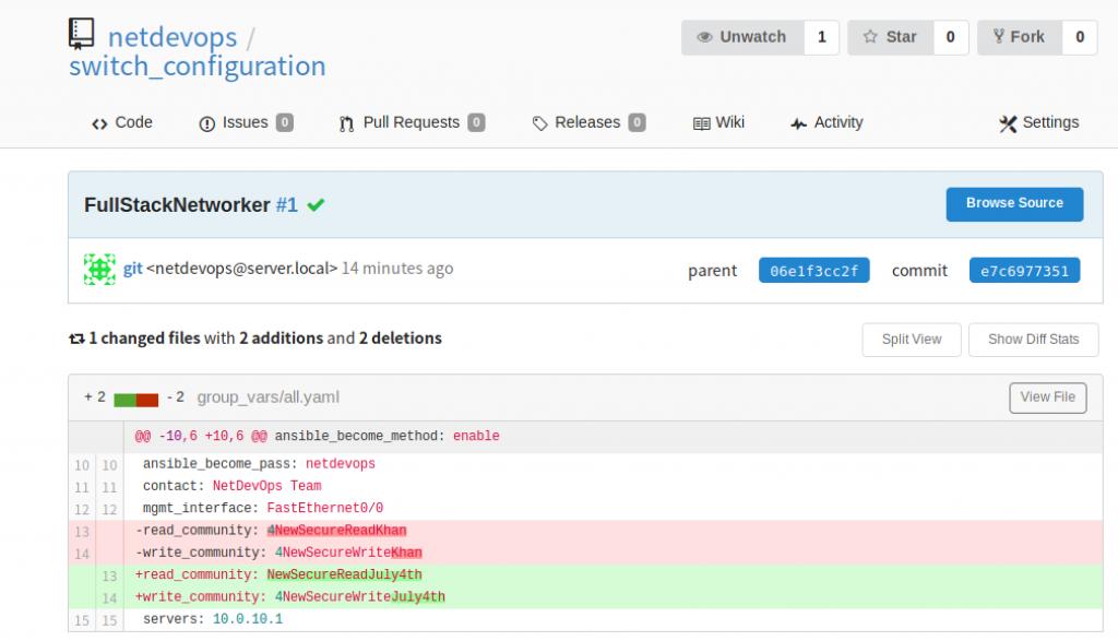 NETDEVOPS: Understanding Continuous Integration (CI