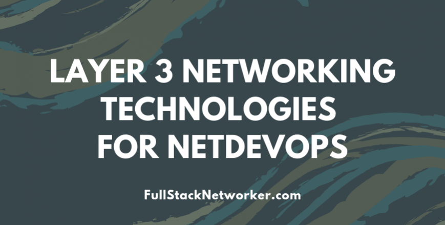 Layer3-networking-technologies-for-NetDevOps