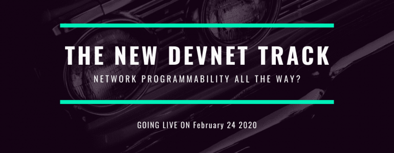 the new cisco devnet track associate professional