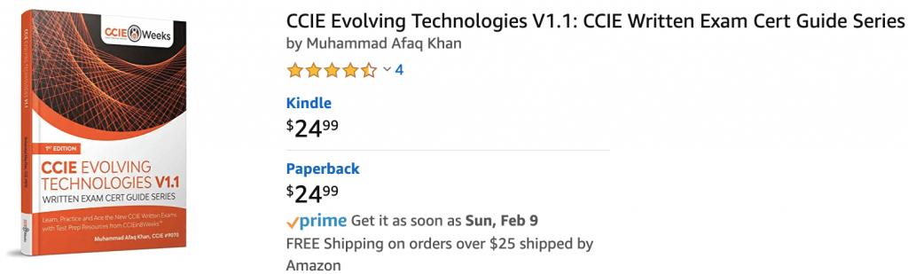ccie evolving technologies