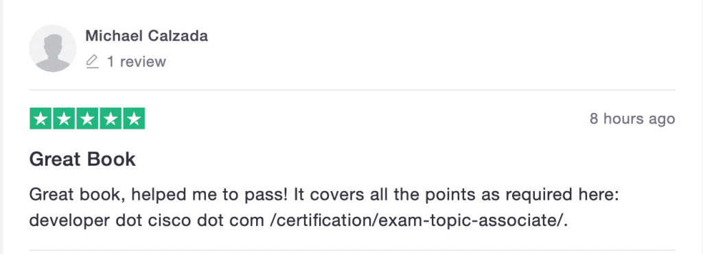 full stack networker devnet associate exam study guide training material and practice exams