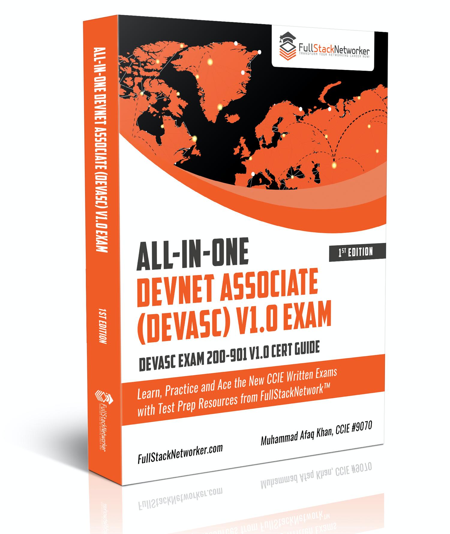 Cisco DevNet Associate DEVASC 200-901 Exam Cert Study Guide Paperback