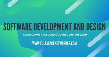 cisco devnet associate certified software development and design
