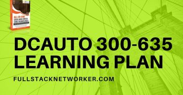 dcauto 300-635 exam learning plan