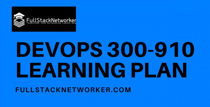 devops 300-910 exam learning plan