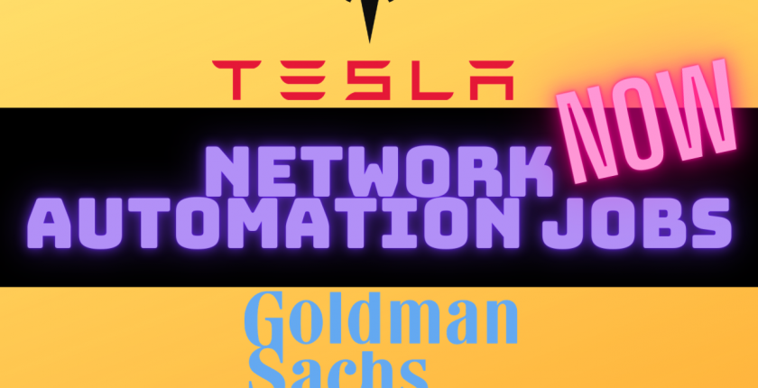 network automation jobs and salaries